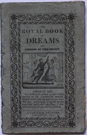 THE ROYAL BOOK OF DREAMS and Visions of the Night.