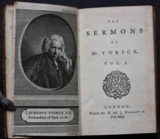 THE SERMONS OF MR. YORICK. by STERNE, Laurence.