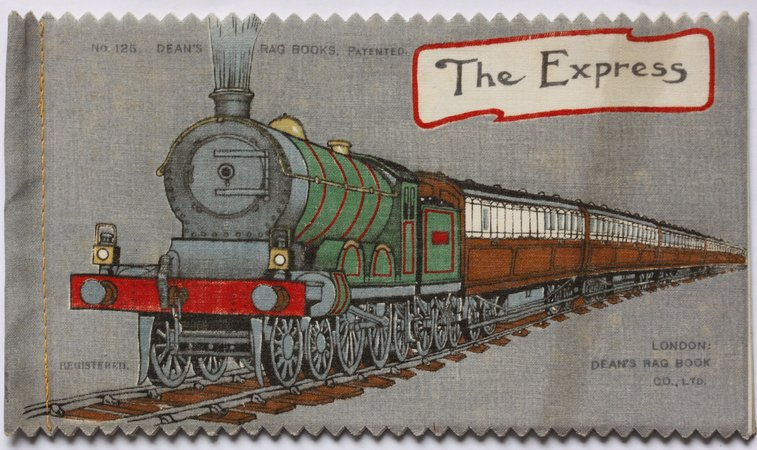 THE EXPRESS. No. 125. Dean's 1/- Patent Rag Book Series 2.
