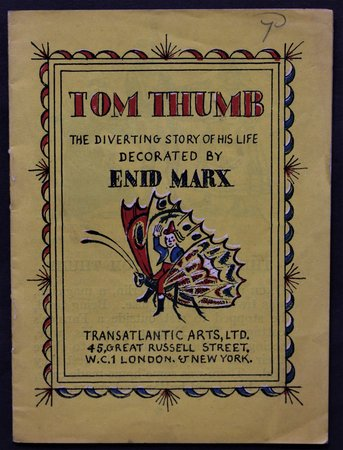 TOM THUMB The Diverting History of his Life Decorated by Enid Marx. A Bantam Picture Book No. 32. by MARX, Enid.