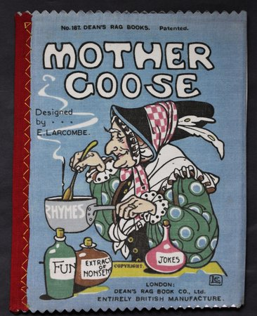MOTHER GOOSE. Designed by A. Lacombe. No 187. Dean's 2/- Patent Rag Book Series 3. by Larcombe, A.