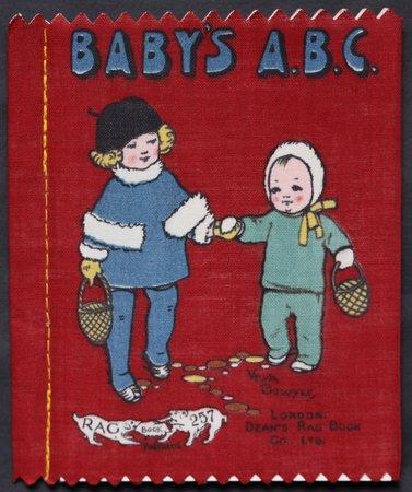 BABY'S A.B.C. Dean's 6d Patent Rag Books Series 1.