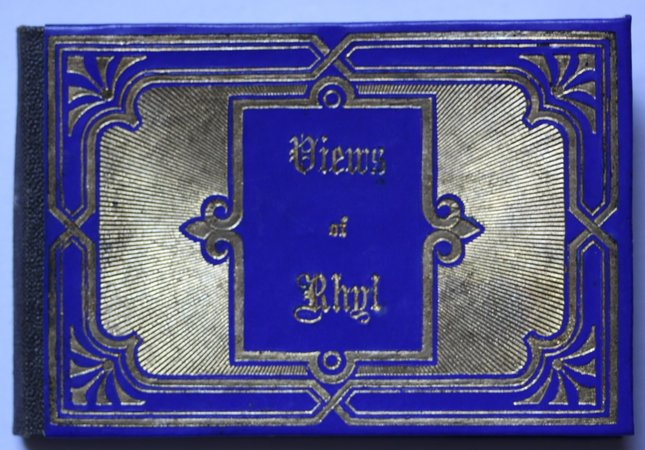 The Miniature Leporello-Album of RHYL.