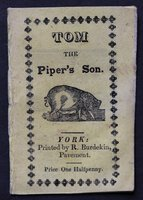 TOM THE PIPER'S SON. Price One Halfpenny.