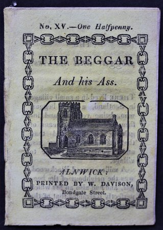 THE BEGGAR AND HIS ASS. No. XV. – One Halfpenny.