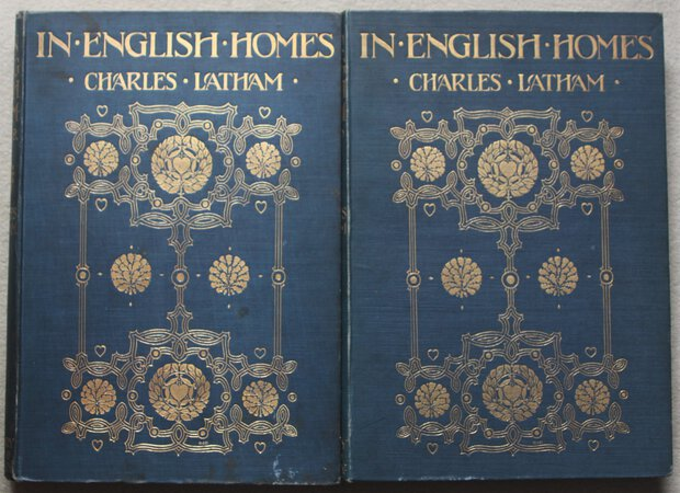IN ENGLISH HOMES: The Internal Character, Furniture &Adornments of Some of the Most Notable Houses of England Historically Depicted from Photographs Specially Taken By Charles Latham. by LATHAM, Charles.