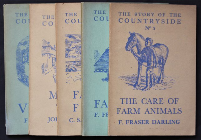 The Story of the Countryside. by Thomas, F. G. Allan, R. Orwin, C. S. Fraser Darling, F.