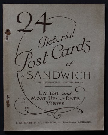24 Pictorial Post Cards of Sandwich and neighbouring coastal towns. Latest and Most Up-to-Date Views.