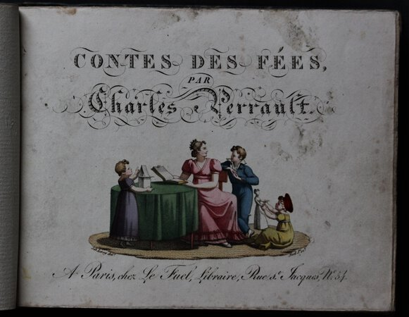 CONTES DES FÉES, par Charles Perrault. by PERRAULT, Charles.