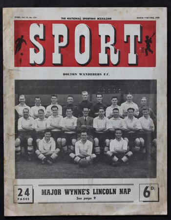 SPORT The National Sporting Magazine. Volume 10, No. 114. march 17th-23rd, 1950.