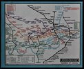 Another image of MAP OF LONDON'S UNDERGROUND RAILWAYS. Issued Free. Publicity Manager's Office. by STINGEMORE, F. H.