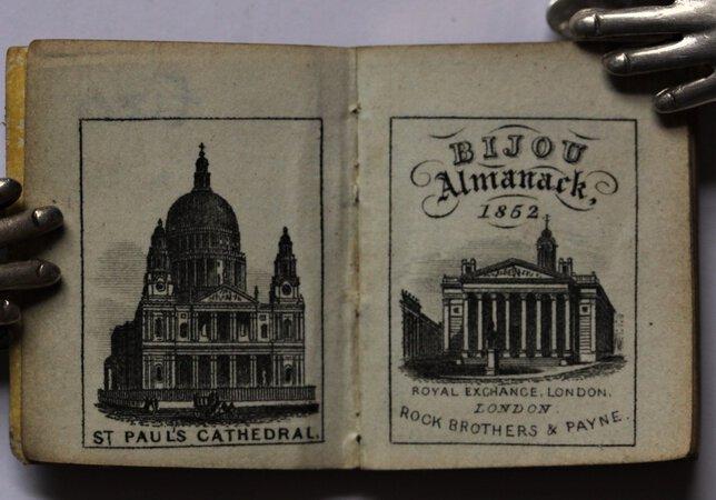BIJOU ALMANACK, 1852.