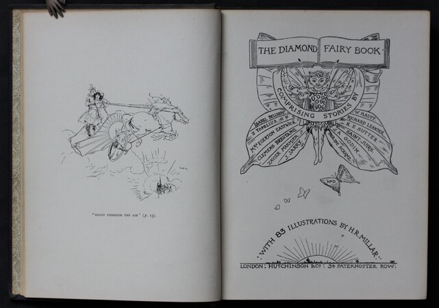 THE DIAMOND FAIRY BOOK. Comprising Stories by Isabel Bellerby; Z. Topelius; Mrs. Egerton Eastwick; Clemens Brentano (etc. etc.) by BELLERBY, Isabel and others.
