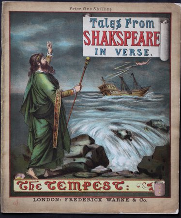 Tales from Shakespeare in Verse. THE TEMPEST. by [VALENTINE, Laura Belinda.]
