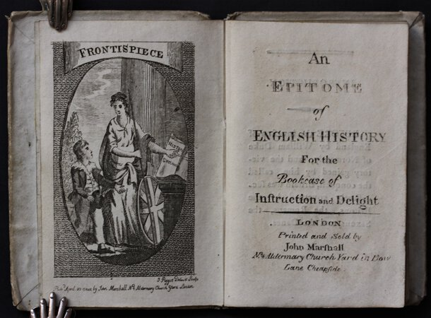 AN EPITOME of ENGLISH HISTORY For the BOOK-CASE of Instruction and Delight.