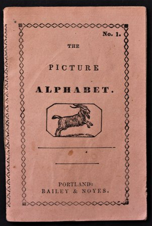 THE PICTURE ALPHABET; or, Child's A, B, C. Seventh Series -- No. 1.