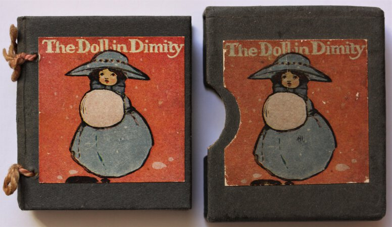 THE DOLL IN DIMITY.