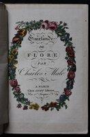 GUIRLANDE DE FLORE. by MALO, Charles.