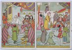 Another image of Marcus Ward's Japanese Picture Stories. ABOU HASSAN Caliph for a Day. Price 1/-. Mounted on linen 2/.