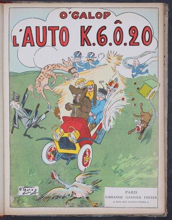 L'AUTO K.6.Ô.20. by O'GALOP.