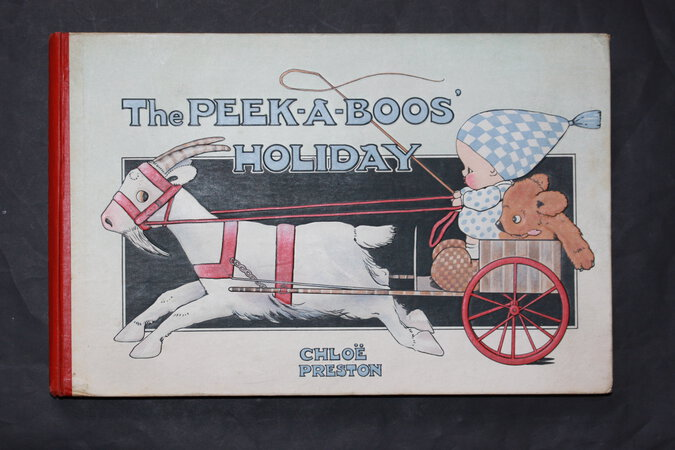 THE PEEK=A=BOOS' HOLIDAY. Drawn by Chloe Preston. Told by Tom Preston. by PRESTON, Tom.