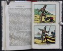 Another image of Bysh's Edition of the LIFE OF ROBINSON CRUSOE. Of York, Mariner, who lived eight-and-twenty years in an uninhabited island. Embellished with Eight Coloured Engravings. by [DEFOE, Daniel.]