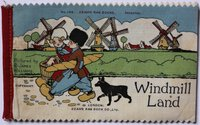 WINDMILL LAND. Dean's 1/- Patent Rag Book Series.