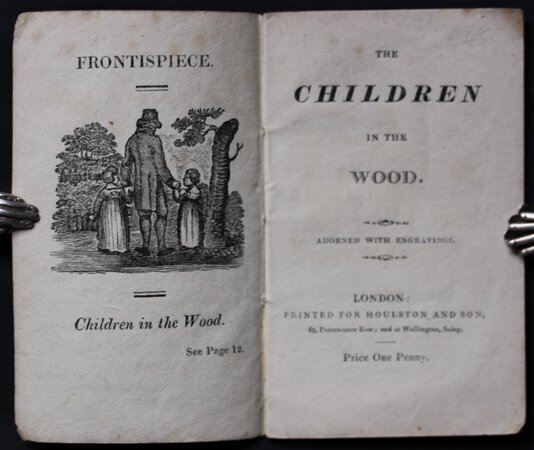 THE CHILDREN IN THE WOOD. Adorned with engravings.