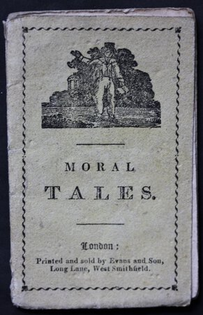 MORAL TALES: or, Fire-side Companion.