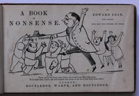 A BOOK OF NONSENSE. Fifth edition. With many new pictures and verses. by LEAR, Edward.