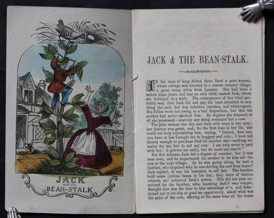 JACK AND THE BEANSTALK. Penny Pictorial Library.
