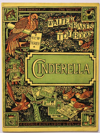 CINDERELLA. Price Sixpence; or Mounted on Linen, One Shilling. by [Perrault, Charles.]