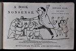 Another image of A BOOK OF NONSENSE. By Edward Lear, Third edition. With many new pictures and verses. London. by LEAR, Edward.