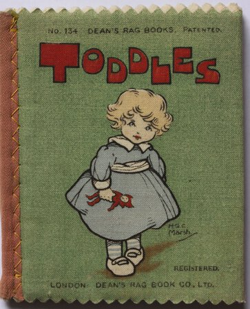 TODDLES. Dean's 1/6 Patent Rag Books. Number 134'