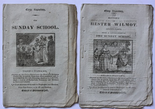 Cheap Repository. THE SUNDAY SCHOOL. by [MORE, Hannah.]