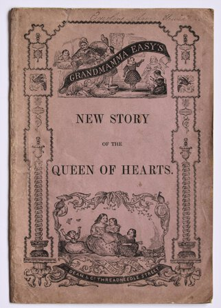 Grandmamma Easy's NEW STORY OF THE QUEEN OF HEARTS.