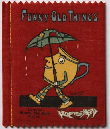 FUNNY OLD THINGS. No. 255. Dean's 6d Patent Rag Books Series 1.