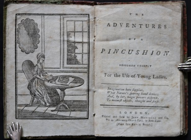 THE ADVENTURES OF A PINCUSHION. Designed Chiefly For the Use of Young Ladies. by [KILNER, Mary Ann.]