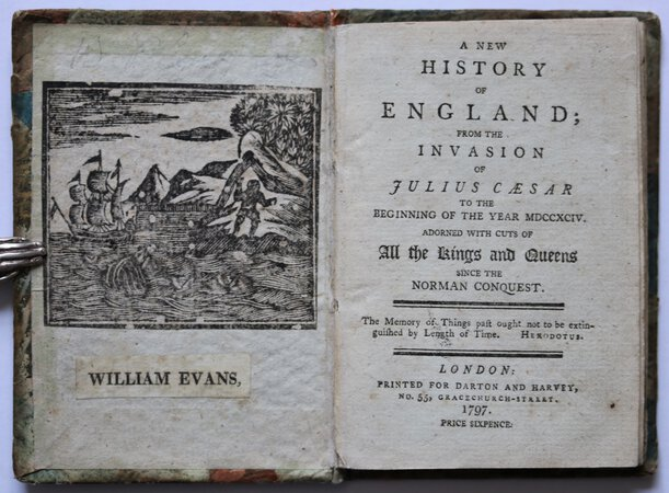 A NEW HISTORY OF ENGLAND; from the invasion of Julius Cæsar to the beginning of the year MDCCXCIV. Adorned with cuts of all the Kings and Queens since the Norman Conquest.