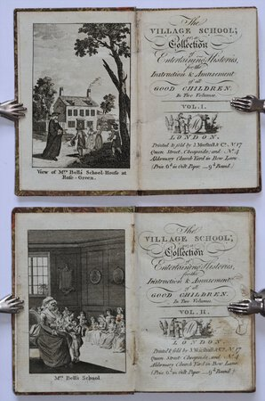 THE VILLAGE SCHOOL; or, a Collection of Entertaining Histories, for the Instruction & Amusement of all Good Children. In Two Volumes. by [KILNER, Dorothy.]