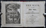 Another image of THE MICE AND THEIR PIC NIC. A Good Moral Tale, &c. By a looking-glass maker. by [ELLIOTT, Mary.]