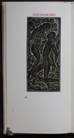 Das Hohe Lied Salomo / The Song of Solomon; Facsimile of the Cranach Presse edition, published by Graf Harry Kessler.