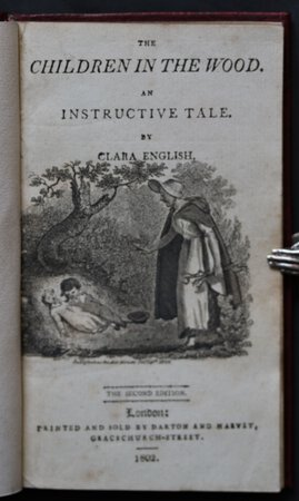 THE CHILDREN IN THE WOOD. The Second Edition. by ENGLISH, Clara.