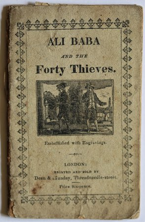 ALI BABA; or The Forty Thieves. An Eastern Tale. Embellished with neat coloured engravings.