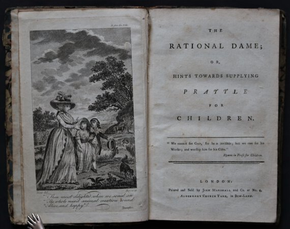 THE RATIONAL DAME; or, Hints Towards Supplying Prattle for Children. by FENN, Eleanor.