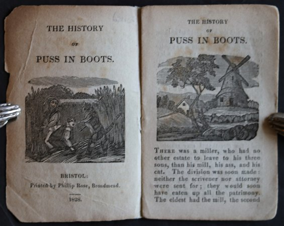 THE HISTORY OF PUSS IN BOOTS.