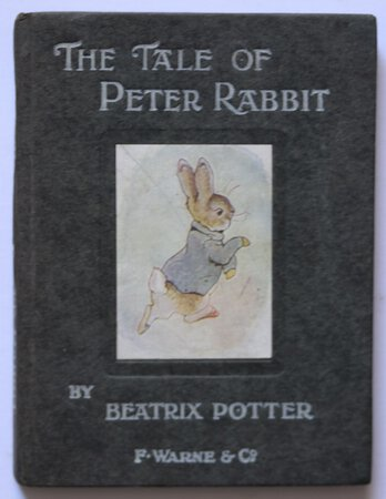 THE TALE OF PETER RABBIT By Beatrix Potter. by POTTER, Beatrix.