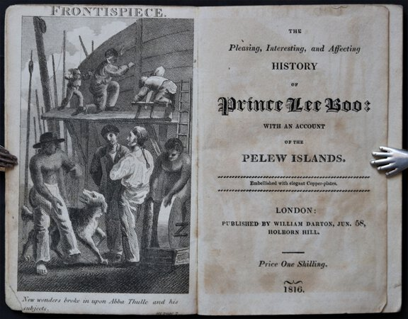 The Pleasing, Interesting, and Affecting History of Prince Lee Boo: with an account of the Pelew Islands. Embellished with elegant Copper-plates.