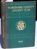 YORKSHIRE COUNTY CRICKET CLUB. Ninth Annual Issue. List of Officers. Fixtures for Season 1901. Rules. Laws of Cricket. Members. Matches and Averages, 1900. County Records. List of Players who have Played for the County. Diary for Season 1901, &c. &c. by WOSTINHOLM, J. B. and STONES, H. H. Edited and compiled by.