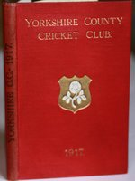 YORKSHIRE COUNTY CRICKET CLUB. Twenty-Fifth Annual Issue. Season 1917. by TOONE, F. C. Edited by.